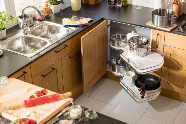 Kuchnia podzielona na strefy - pomagamy urządzić