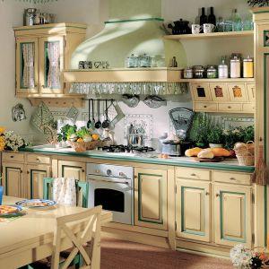 Styl rustykalny w kuchni. Dużo pięknych zdjęć. Fot. Lottocento.