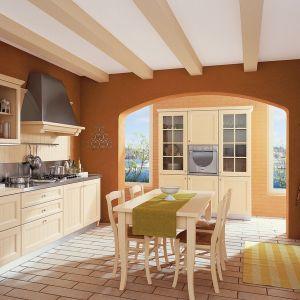 Styl rustykalny w kuchni. Dużo pięknych zdjęć. Fot. Newport, Veneta Cucine
