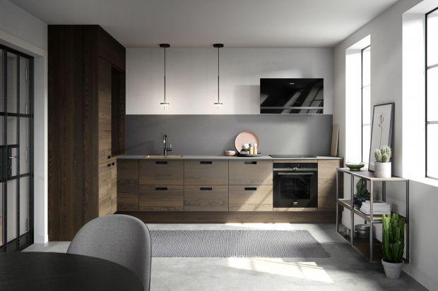 Drewno w nowoczesnej kuchni. Piękne zdjęcia