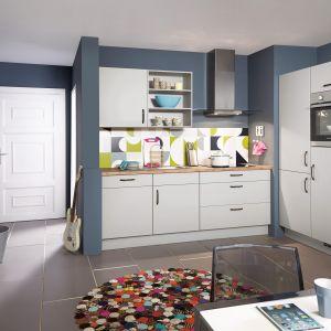 10 pomysłów na białe meble do kuchni. Fot. Nobilia