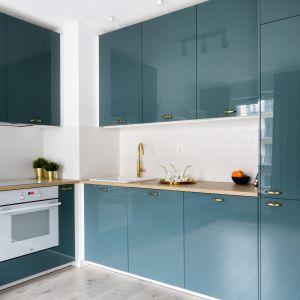 Kolor w kuchni. 10 pięknych wnętrz. Projekt Deer Design