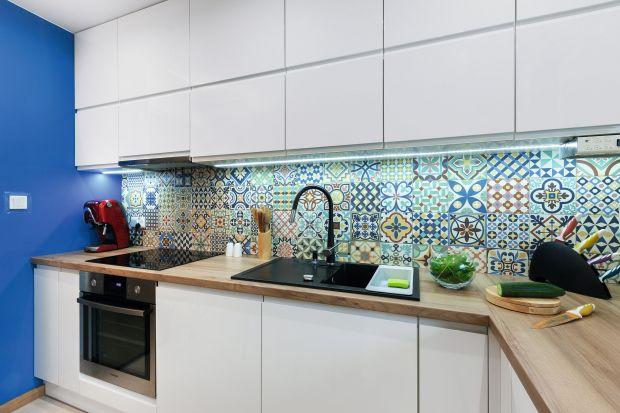 Kolor w kuchni. 10 pięknych wnętrz