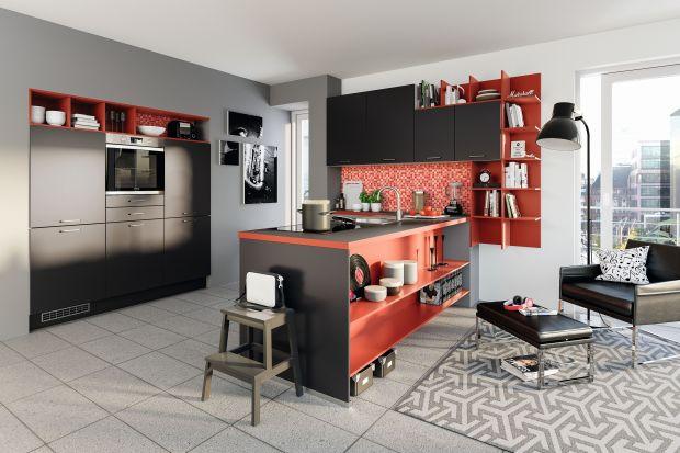Wnętrza doprawione czerwienią. 5 pomysłów na kuchnię