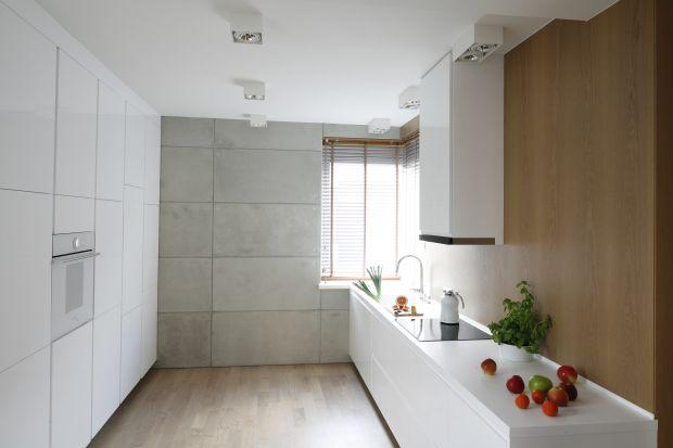 Pięć pomysłów na beton w kuchni.