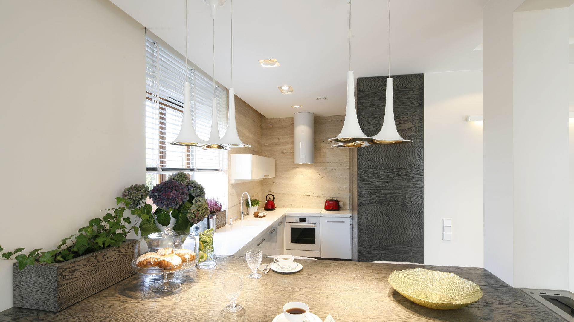 10 pomysłów na półwysep w kuchni. Fot. Publikator