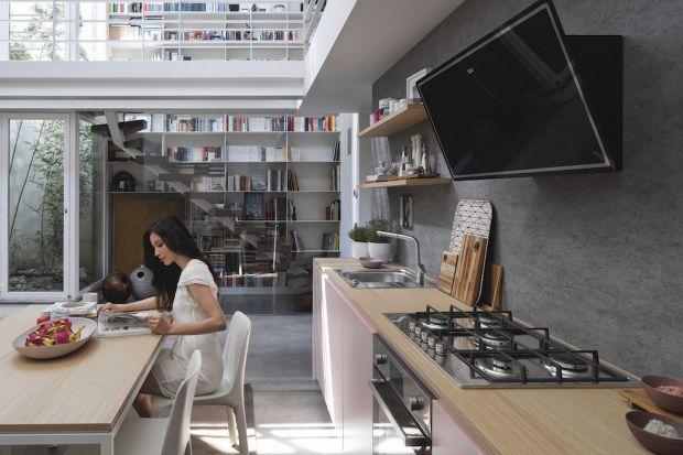Kuchnia z widokiem na nowoczesność