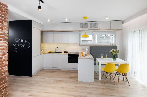 5 pomysłów na białą kuchnię w domu jednorodzinnym