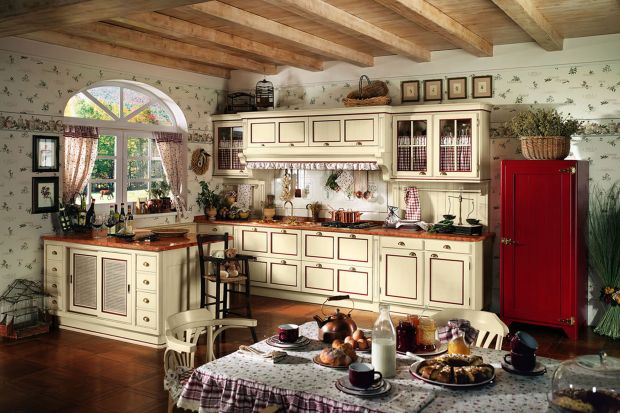 5 pomysłów na kuchnię w wiejskim stylu