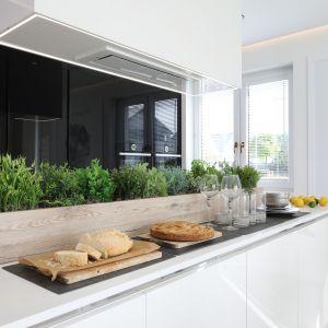 Biała kuchnia. Piękne wnętrze dla rodziny
