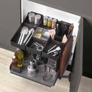 10 pomysłów na wyposażenie szafek w kuchni. Fot. Peka