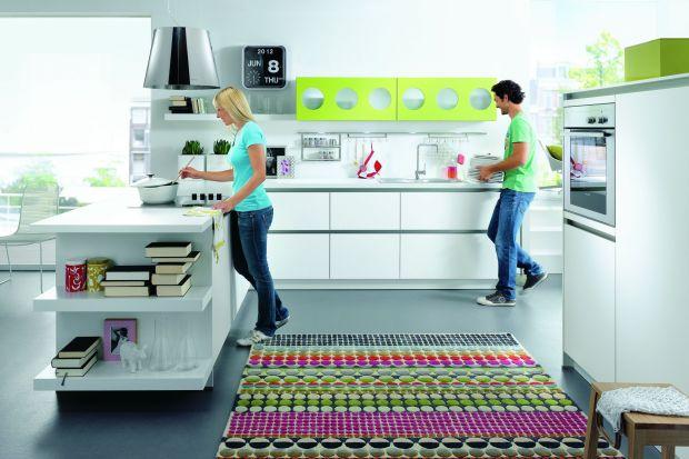 Kolor w kuchni. 5 barwnych aranżacji