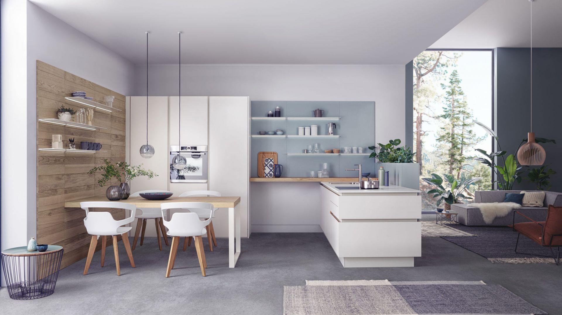 Meble w modnej kuchni. 10 pomysłów na urządzenie. fot. Leicht