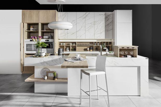 5 pomysłów na białe meble do dużej kuchni