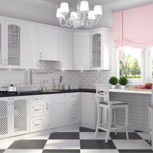 Klasyczna kuchnia. 10 pomysłów na aranżację w bieli. Fot. Stolkar