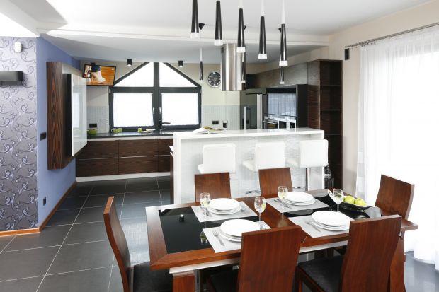 Trzy pomysły na urządzenie jadalni przy kuchni.