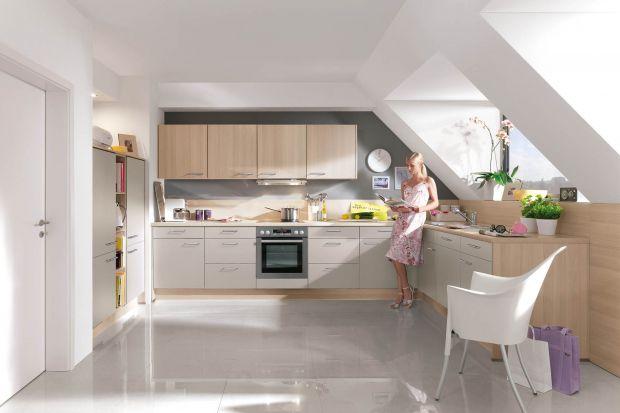 Kuchnia na poddaszu. 5 pomysłów na urządzenie