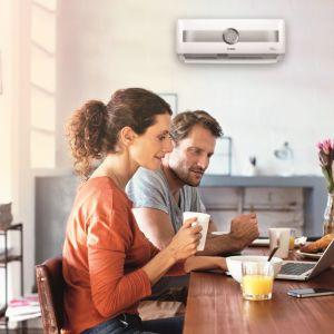 Klimatyzatory Climate 8500 RAC mogą pracować nawet w niskich temp. do -15°C; z ultrajonizatorem, filtrami HD i funkcją samooczyszczania. Fot. Bosch