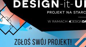 Rusza II edycja konkursu DESIGN-it-UP – PROJEKT NA STARCIE, skierowanego do twórców innowacyjnych rozwiązań i technologii, usprawniających pracę architektom, designerom, a także firmom działającym w branży wyposażenia wnętrz. Plebiscyt to wy