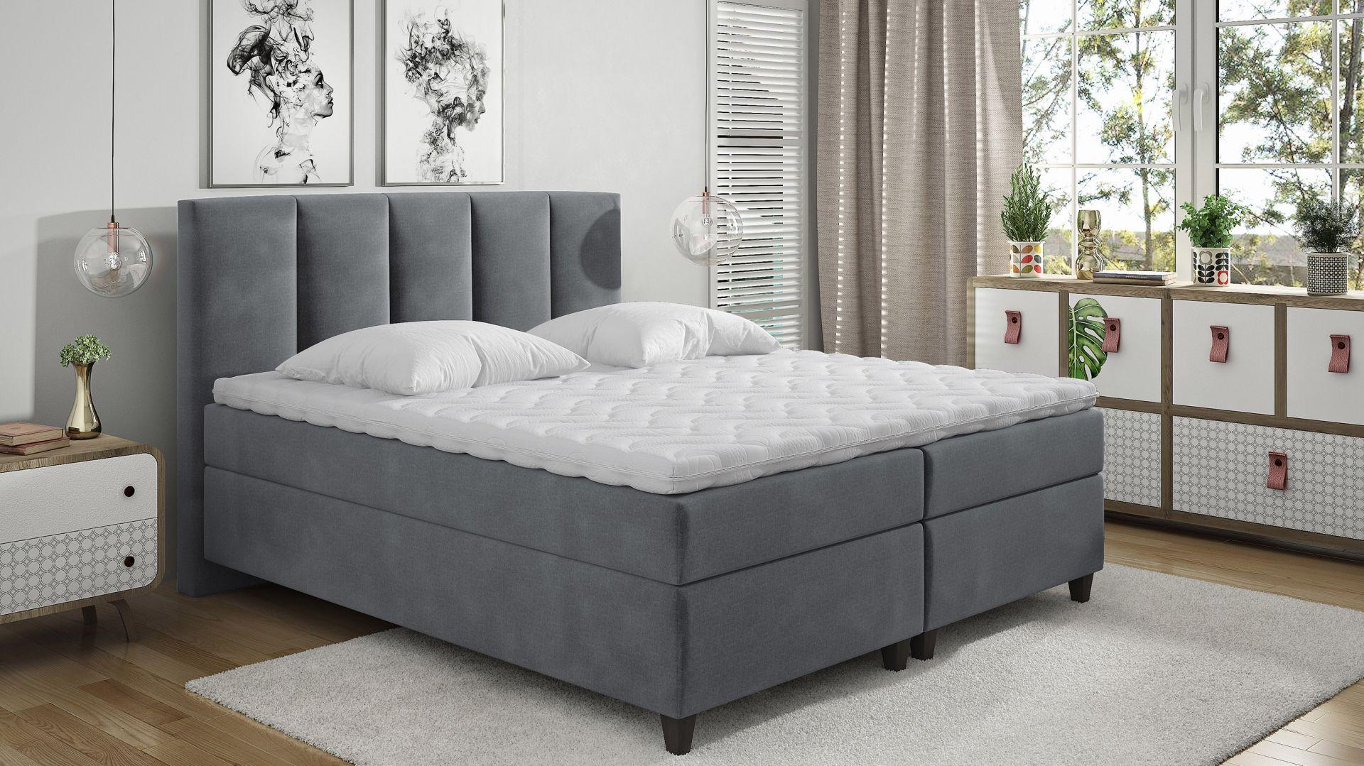 Łóżko kontynentalne Arizona marki Comforteo. Fot. Comforteo