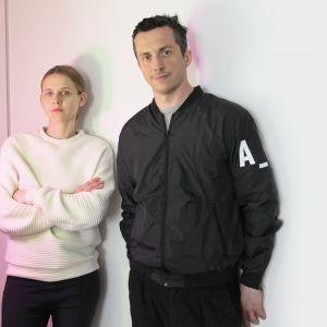 Ewa Bochen i Maciej Jelski, założyciele pracowni Kosmos Project