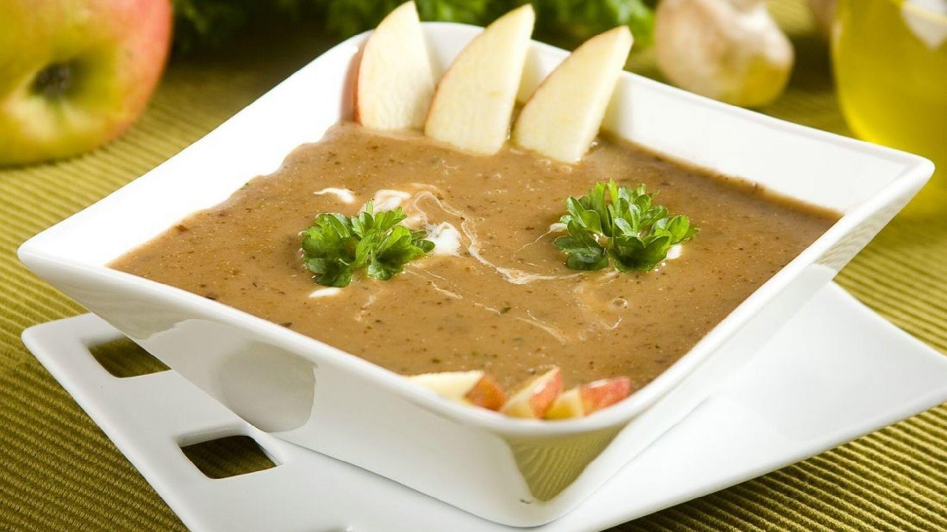 Zupa grzybowo-owocowa. Fot. Knorr