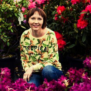 Katarzyna Kusiak, architekt krajobrazu, właścicielka firmy Zielona Perspektywa