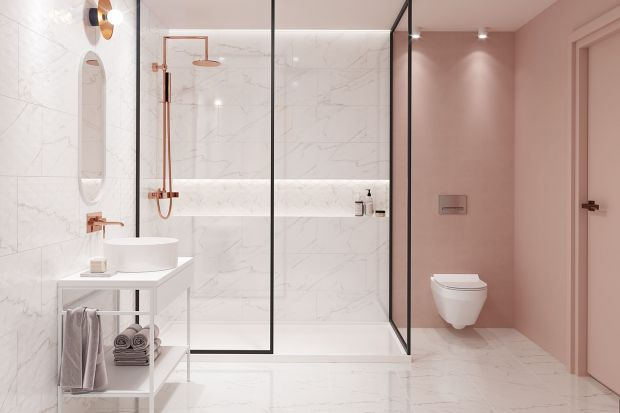 Naturalne odcienie beżu, szarości i bieli to perfekcyjne połączenie kolorystyczne idealne do łazienki dla zabieganych. Dzięki takiemu zestawieniu barw, nasze oczy będą w końcu w stanie odpocząć po całym dniu spędzonym przed komputerem.