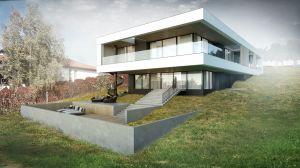 Projektowanie domów jednorodzinnych na działce z dużym spadkiem jest sporym wyzwaniem, ale nie rzecz niemożliwą.