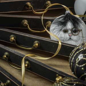Świąteczne dekoracje  z kolekcji Alice in Wonderland marki Dagmara. Fot. Dagmara