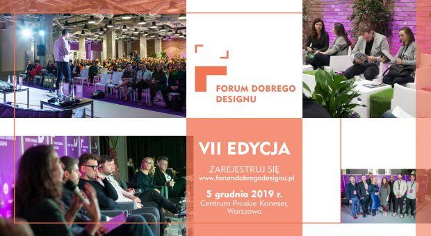 Już 5 grudnia Forum Dobrego Designu 2019 w Warszawie