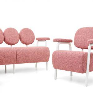 Sofa Audrey dla marki So_Fem/Lech-Pol. Projekt: Magdalena Kasprzyca