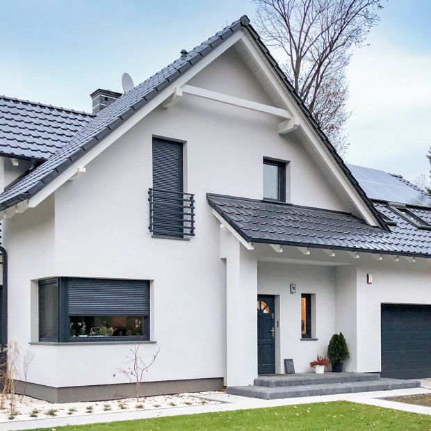 Komfortowy dom o pięknym wnętrzu w nowoczesnym stylu. Zobacz realizację