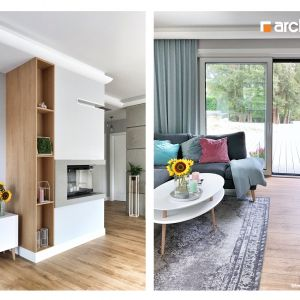 """""""Dom w tamaryszkach 2 (G2N)"""" - Projekt z Pracowni ARCHON+. Fot. @tamaryszek.home"""