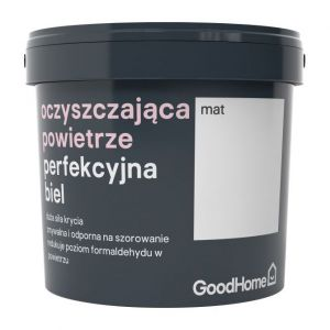 Farba GoodHome air biała, Castorama 59,98 zł/2,5 l