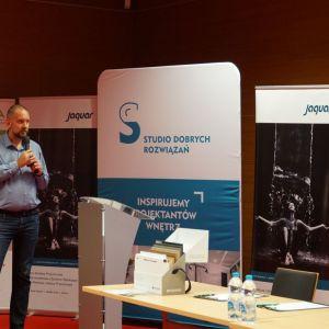 Marcin Rutkowski z firmy TechniStone. Fot. SDR