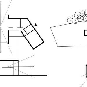 Dom z widokiem - plan. Fot. Studio BB Architekci Tomasz Bradecki, Barbara Uherek-Bradecka