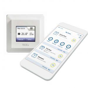 Termostat TECE z WiFi. Fot. Tece