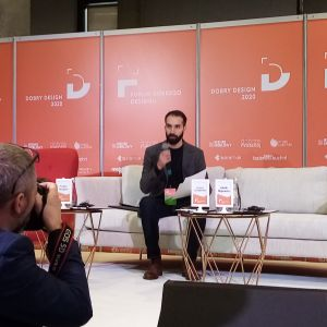 Yoann Jacquon.. Forum Dobrego Designu 2019. Fot. PTWP