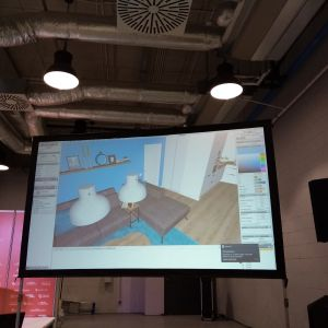 """Warsztaty dla architektów i projektantów  """"Projektowanie 3.0."""". Fot. AS"""