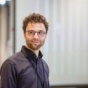 Jan Pfeifer. Forum Dobrego Designu 2019. Fot. Piotr Waniorek