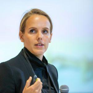 Joanna Jurga. Forum Dobrego Designu 2019. Fot. Piotr Waniorek