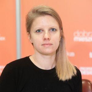 Agata Frątczak. Forum Dobrego Designu 2019. Fot. Paweł Pawłowski