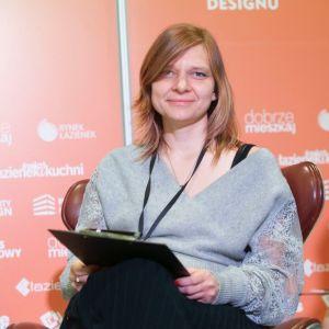 Anna Piotrowska. Forum Dobrego Designu 2019. Fot. Paweł Pawłowski