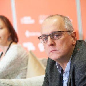 Roland Stańczyk. Forum Dobrego Designu 2019. Fot. Paweł Pawłowski