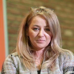 Barbara Wawrzeń-Wiśniewska. Forum Dobrego Designu 2019. Fot. Paweł Pawłowski