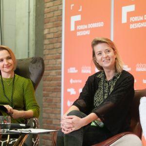 Ewa Czerny. Alina Badora. Forum Dobrego Designu 2019. Fot. Paweł Pawłowski