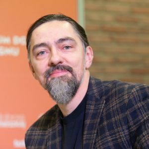 Grzegorz Goworek. Forum Dobrego Designu 2019. Fot. Paweł Pawłowski