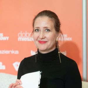 Justyna Smolec. Forum Dobrego Designu 2019. Fot. Paweł Pawłowski