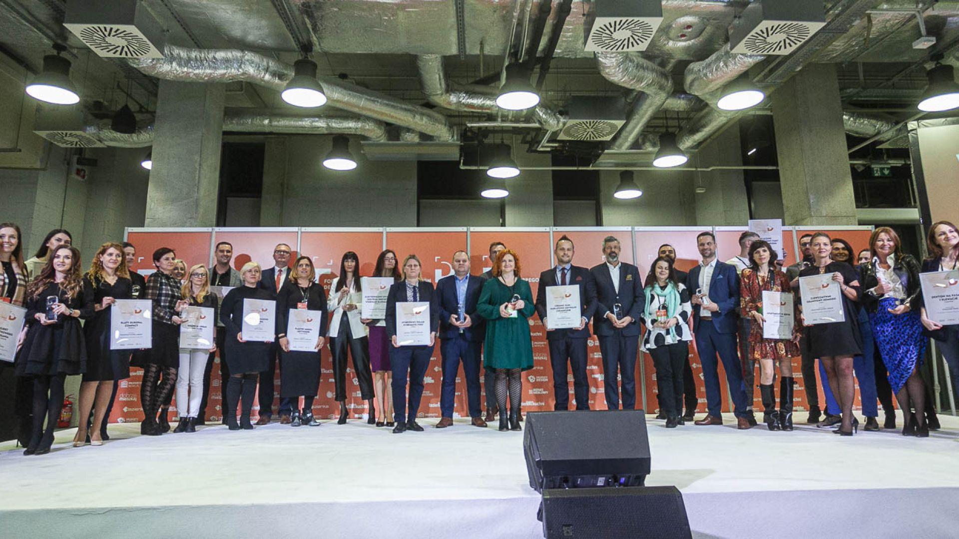 Gala wręczenia nagród w konkursie Dobry Design 2020. Fot. Marek Misiurewicz